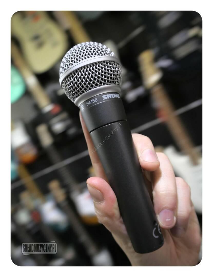 Mikrofon dynamiczny do wokalu Shure SM58-LCE da8fd2a8c2